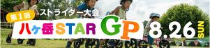 八ヶ岳STAR GP(ストライダー大会)