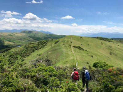 御柱の森にそびえる好展望の山 鷲ヶ峰1,798m