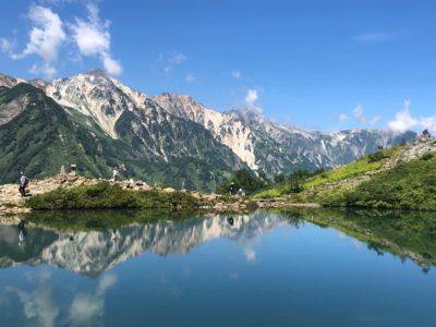 【定員となりました】白馬三山を水面に映す「白馬八方池」
